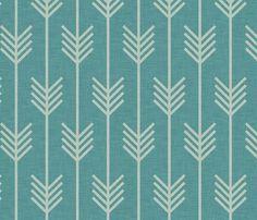 arrow marine fabric by holli zollinger : spoonflower