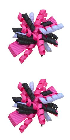 Hair Accessories 1pc 5.5 Inches New Hair Bows Hairpins Red/black/white Stacked Boutique Bows Hairpin Girls Headwear Kids Hair Accessories Firm In Structure