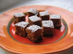 White-Chocolate Blondie Bites 1/2 cup (1 stick) unsalted butter, softened 1/2 teaspoon salt 1 cup light brown sugar 1/2 teaspoon baking soda 2 eggs 1/2 cup white-chocolate chips 2 teaspoons vanilla 1/2 cup chopped walnuts 1 cup all-purpose flour Confectioners' sugar, for dusting