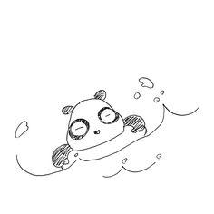 【一日一大熊猫】2016.7.26 夏真っ盛り!満喫してる? #パンダ #夏