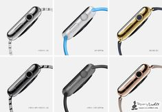 As well as announcing the iPhone Apple also announced an all new product - the Apple Watch. The new Apple Watch will come in two different sizes and Apple Watch Price, New Apple Watch, Apple Watch Series, Apple Watch Fashion, Apple Watch Models, Wearable Device, Wearable Technology, Smartwatch, Ipod
