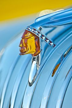 1948 Pontiac Hood Ornament by Jill Reger***Research for possible future project.