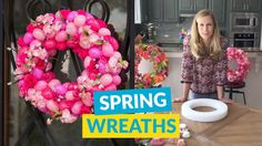 Stunning Spring & Easter Wreaths!