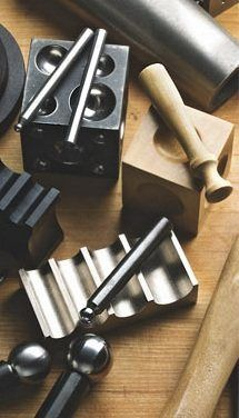 Dapping and Forming Blocks: Jewelry-Making Tools to Help You Shape Your Sheet with Ease - Jewelry Making Daily - Jewelry Making Daily