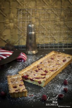 Super Yummy Raspberry Tart   Little Box Brownie