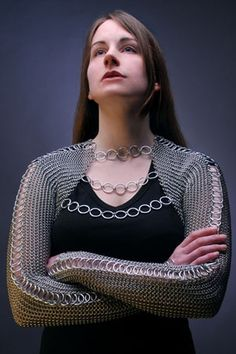 Chainmail shirt...this is one I would actually be willing to make and wear.