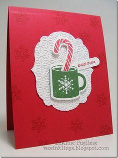 wee inklings: Christmas Card Stamp Camp Cards