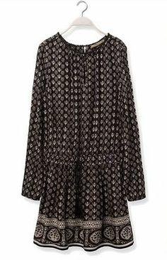 Sfera SS 2014 | Ethnic print dress