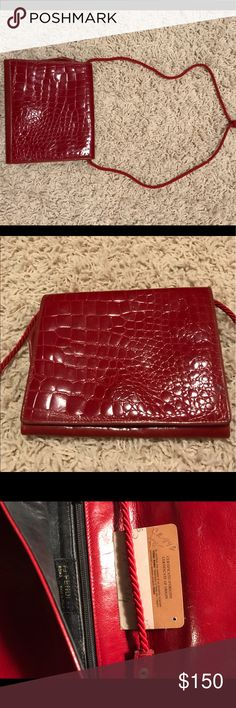 Vintage Fendi purse. AUTHENTIC!!! Outside is in pristine condition. Inside has minor signs of wear and aging but ultimately this find is great!! Fendi Bags Crossbody Bags