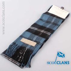 Ramsay Tartan Lambswool Scarf. Free worldwide shipping available