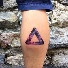 Impossible Triangle Tattoo by Resul Odabas