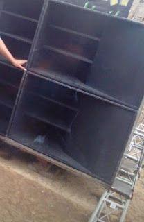 Skema Box horn Folded 1850 Suara Bass Jauh Mengglegar - BANTOEL .COM Speaker Plans, Professional Audio, Diy Speakers, Boxes, Tecnologia