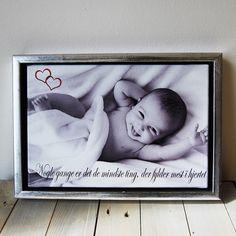 Få printet dig eget foto på lærred Størrelse: 30 X 20 cm Pris: 169 kr