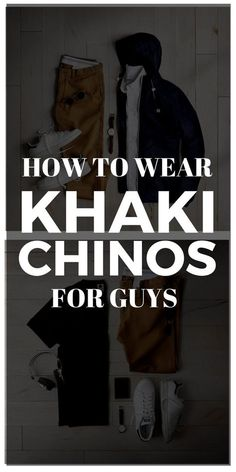 how to wear khaki chinos for men Chinos Men Outfit, Khaki Pants Outfit, Joggers Outfit, Mens Fashion Blog, Best Mens Fashion, Fashion Mode, Fashion Basics, Fashion Tips, Cute Lounge Outfits