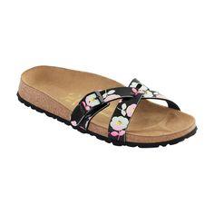 Birkenstock Papillio Catania Marigold Black Sandals