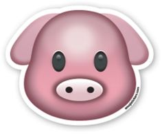 Pig Face | Emoji Stickers