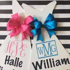 Our monogrammed bundles