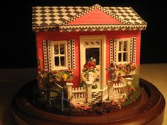 1/48 scale...but could I have a roof and shutters like this for real?!