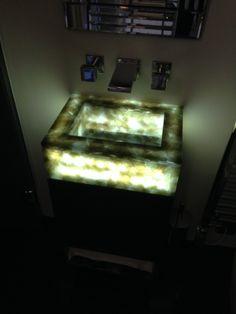 Recycled Glass Vanity Basin