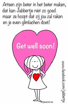Get well soon! - Jabbertje