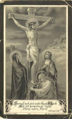 1914 April 18 by Sam Fam, Jesus Catholic Prayers, Catholic Art, Catholic Saints, Religious Art, Roman Catholic, Religious Pictures, Jesus Pictures, La Salette, Vintage Holy Cards