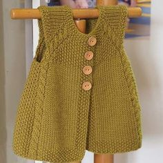 new-Baby-Jacke-Saison-baharlik – Baby Kleidung Baby Knitting Patterns, Knitting For Kids, Crochet For Kids, Knit Crochet, Free Knitting, Cardigan Bebe, Knitted Baby Cardigan, Quick Knits, Vest Pattern