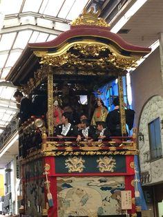 Otsu shiga Japan  月宮殿山 大津祭本祭