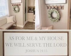 Limited Time As For Me And My House We Will Serve The Lord Large String Art Cross Joshua 24 15 Wood Decor Wall