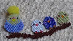 Seed Bead Patterns, Beaded Bracelet Patterns, Loom Patterns, Beading Patterns, Seed Bead Projects, Beading Projects, Beading Tutorials, Peyote Beading, Beaded Animals
