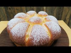 Bollos De Leche Condensada - YouTube Apple Desserts, No Bake Desserts, Dessert Recipes, Pudding Recipes, Bread Recipes, Baking Recipes, Pan Bread, Bread Cake, Sweet Crepes Recipe