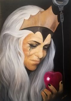 olio su tela 50x70cm Halloween Face Makeup, Painting, Fictional Characters, Art, Painting Art, Paintings, Fantasy Characters, Painted Canvas, Drawings