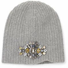 The Look for Less: Club Monaco Rhinestone Beanie Closet Accessories, Winter Accessories, Diy Fashion, Autumn Fashion, Greys Ana, Knitted Hats, Crochet Hats, Cool Hats, Club Monaco
