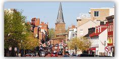 Annapolis Maryland Historic Neighborhood