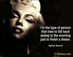 i'm the type of person .....