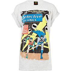 River Island Batman t-shirt, met vintage stripboekcover.    Lees op mijn blog hoe je dit t-shirt zelf kunt maken
