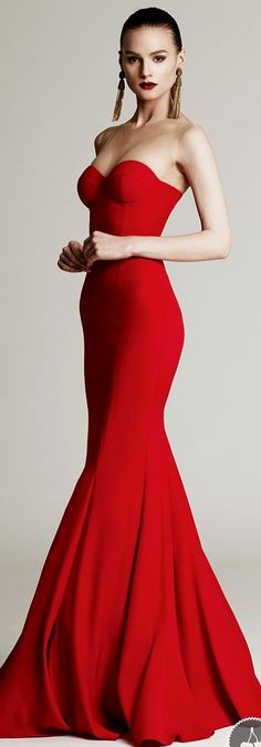 Red Evening Dress | You can find this at => http://feedproxy.google.com/~r/amazingoutfits/~3/yG58NsVf5pI/photo.php