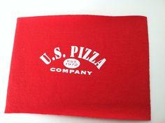 T Shirt Logo  US Pizza Company by IdleHandsYarnSupply on Etsy, $1.25