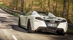 Gemballa GT Spider Based on the McLaren 12C Spider   Cool Material