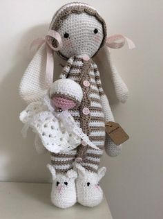 RITA the rabbit made by Anita B. / crochet pattern by lalylala