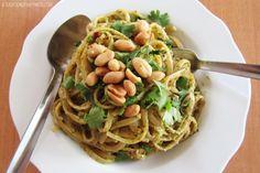 Eggplant Chips with Cilantro Pesto | farm to table. | Pinterest ...