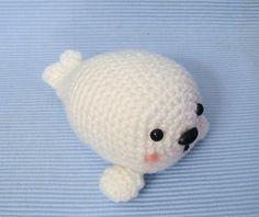 Baby Seal Crochet Amigurumi Pattern