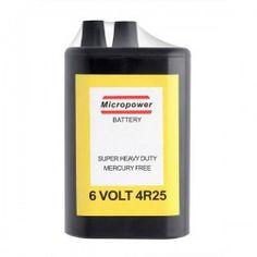 Pila / Batería para baliza (6v 4RS)