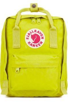 Fjallraven Kanken Mini Backpack - Birch Green