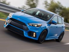 "The first Ford Focus RS has rolled off the assembly line in Saarlouis, Germany. The arrival of the Focus RS to the United States is quite anticipated as the ""ho Audi Rs3, Logo Audi, New Ford Focus, Focus Rs, Ford News, Driving School, Performance Cars, Small Cars, Germany"