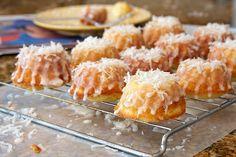Mini Pina Colada Bundt Cakes Recipe