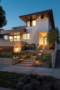 DiLeva Residence - contemporary - exterior - los angeles - Michael Lee Architects