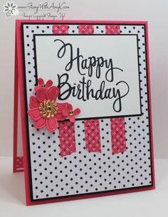 Stampin' Up! Stylized Birthday in Pop of Pink & Bonus Days Starting July 7! | Stamp With Amy K | Bloglovin'
