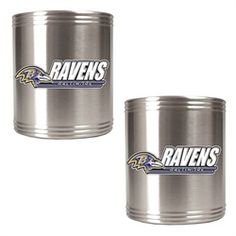 9c596b7ff Baltimore Ravens Stainless Steel Can Drink Holders Broncos Fans