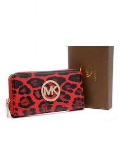 a5a031be89b3 Accessories such as standout MICHAEL Michael Kors Leopard Wallets can  illuminate any outfit and will surely