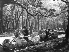 Spring in Vanha kirkkopuistoHelsinki 1949 photo credit: Helsingin kaupunginmuseo
